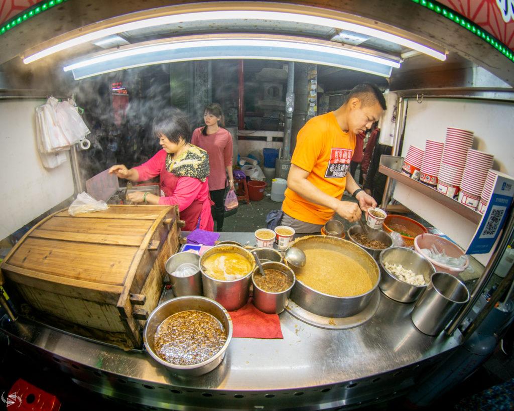 Shilin Night Market Michelin Guide Vermicelli Soup Taipei