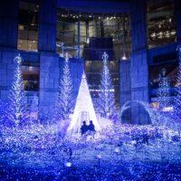 Shiodome Winter Illuminations Tokyo Japan