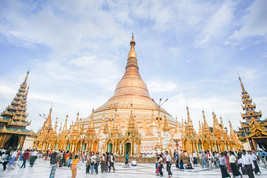 shwedagon pagoda myanmar travel