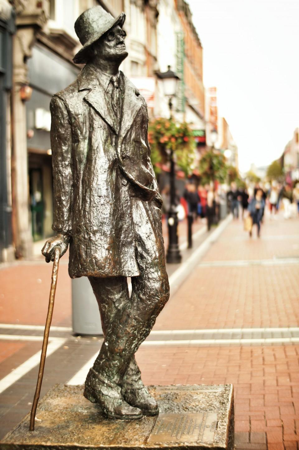 James Joyce Statue, Dublin