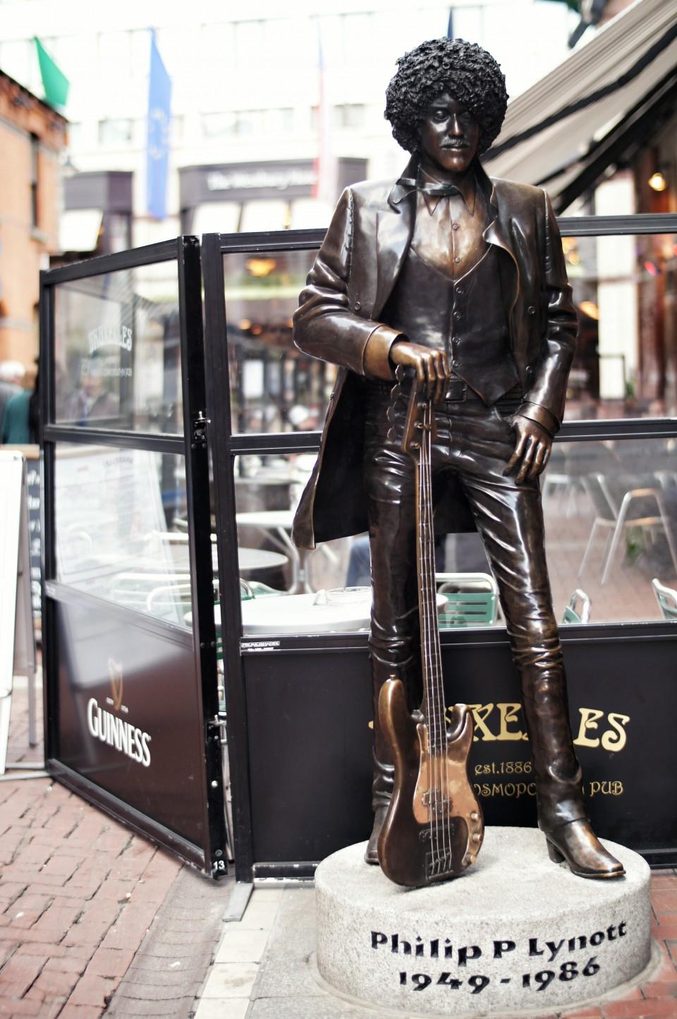 Phil Lynott Statue, Dublin