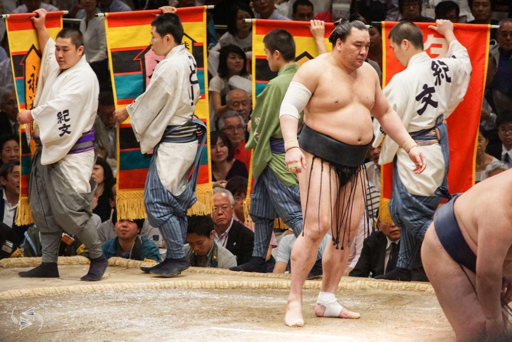 sumo tournament japan sponsored bouts