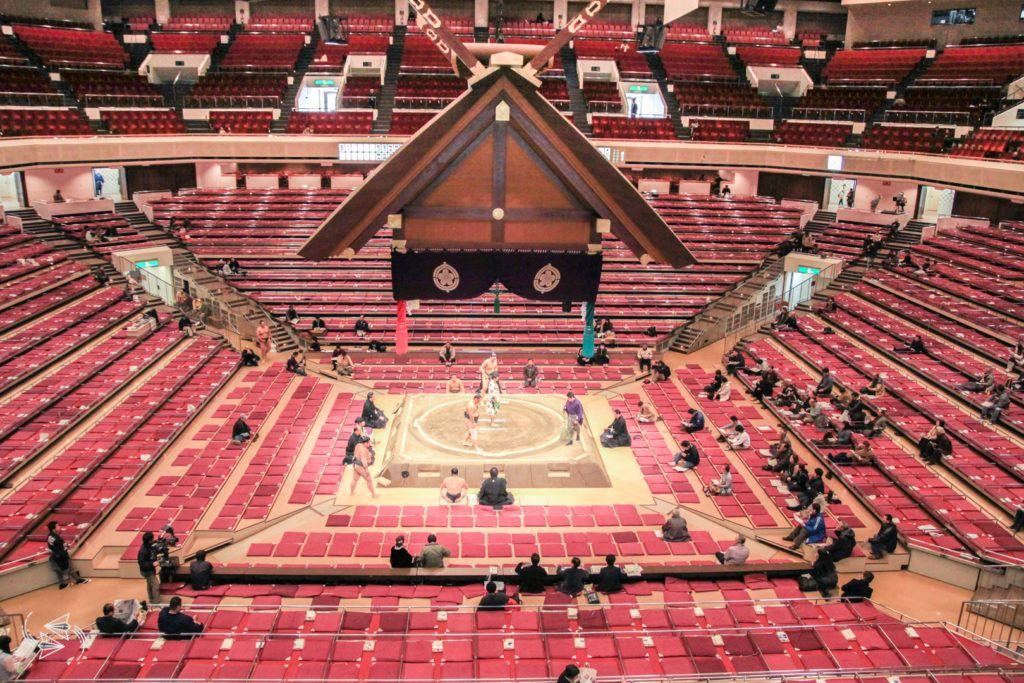 sumo tournament japan sumo stadium seating