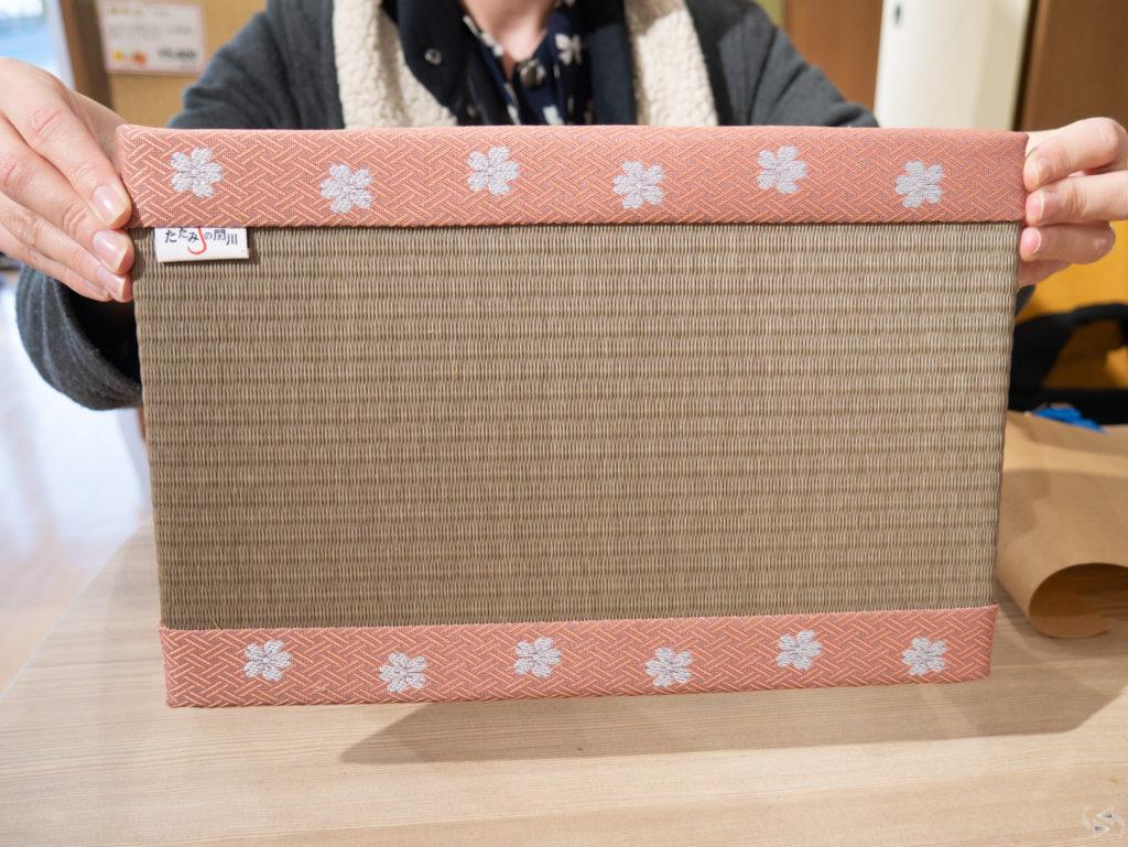 tatami making workshop japan