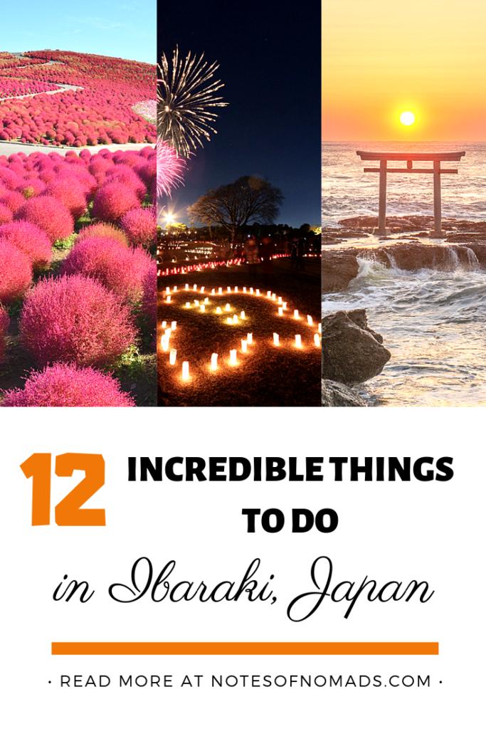 things to do in ibaraki japan pin