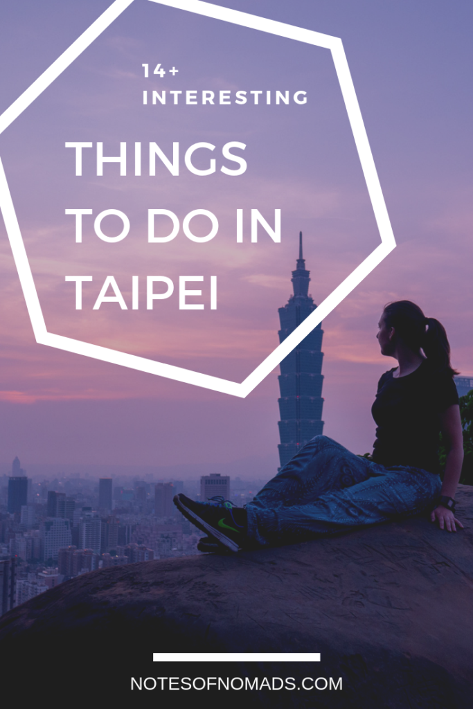 Things to do in Taipei Pin