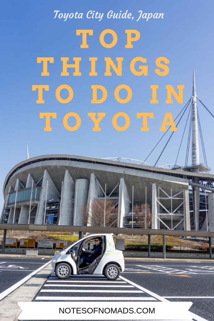 things to do in toyota city pin