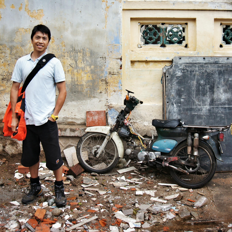 The streets, Tra Vinh, Vietnam.