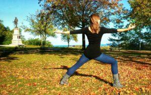 Warrior II Pose Yoga