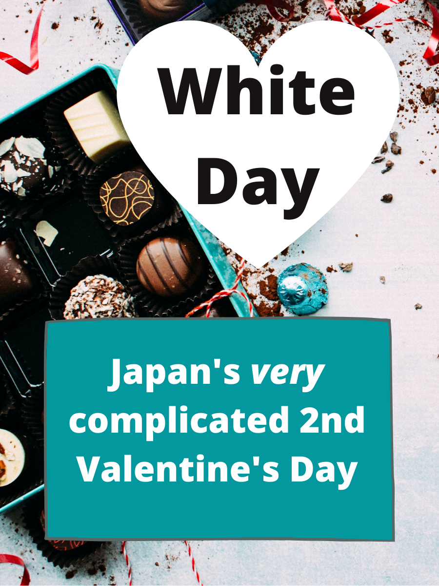 Photo by Jennifer Pallian (via Unsplash). A box of decadent looking chocolates in a teal box sit open on a white counter. Several are out of the box and scattered about.
